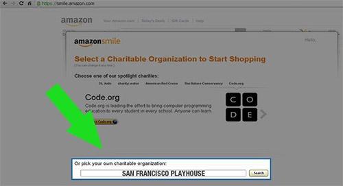 Amazon Smile Instruction