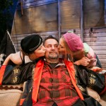 Pea and Tanya say goodbye to Johnny  (Devon Simpson, Brian Dykstra*, Riley Krull)