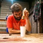 Haynes Thigpen* makes 'shroom tea.