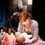 Lauren English and Baby Eva