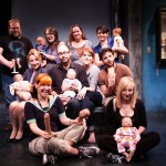 The cast and crew of Reborning