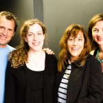 Bill English (Artistic Director), Kim Rosenstock (Writer), Amy Glazer (Director) and Susi Damilano (Producing Director).