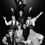 (Clockwise from top) Shaye Troha, Bill English*, Louis Parnell*, Graham Cowley, Mark Farrell*, Katy Stephan, Joe Bellan* and Brian Scott. *appears courtesy of actors equity