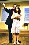 Bill English and Mollie Stickney