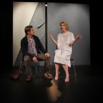Eric (Patrick Russell*) and Melissa (Arwen Anderson*) feeling ambivalent about in-vitro fertilization.
