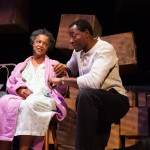 Mrs. Jessalyn Price (Cathleen Riddley*) and Leo Price (Carl Lumbly*) share a moment of lucidity in 'Tree'.