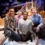 The cast of 'Tree': Tristan Cunningham*, Cathleen Riddley*, Carl Lumbly* and Susi Damilano*
