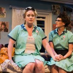 Rose (Caitlin Brooke) gets advice from Mama (Sally Dana*).