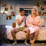 Eddie Birdlace (Jeffrey Brian Adams*) and Rose Fenny (Caitlin Brooke) spend one last night together before Eddie goes to war.