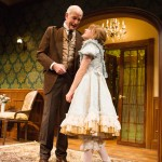 Papa (Warren David Keith*) and Iris (Matilda Holtz) talk about their future in the Hideaway.