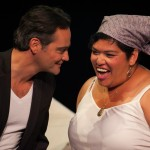 Valmont (Johnny Moreno*) and Mehr (Amy Lizardo*) meet.