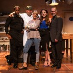 Rodney (Larry Powell*), Harry (Brian Dykstra*), Emily (Alex Sunderhaus*), Mike  (Rod Gnapp*)  and director Margarett Perry.
