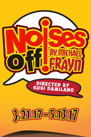 Noises Off Comedy by Michael Frayn