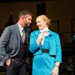 Robert (Keith Pinto*) and April (Morgan Dayley) discuss their future.