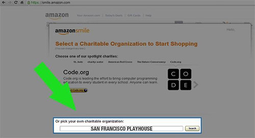 Amazon Smile Instruction