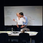 Coworkers Sandeep (Jason Kapoor) and, Hannah (Carrie Paff*) having an affair.