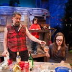 Johnny attempts peace offering with ex while son looks on. (Brian Dykstra*, Ian DeVaynes, Maggie Mason)