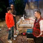Johnny hopes to get hug from his son. (Calum John, Maggie Mason, Brian Dykstra*)