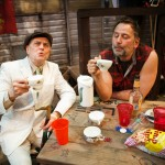Tea with the Professor on St Georges Day morning. (Richard Louis James, Brian Dykstra*)