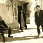 Carl Lumbly, Gloria Weinstock, and Gabriel Marin