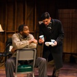 Pastor Chester ( Carl Lumbly*) and  Burough President (Gabriel Marin*) have a fateful meeting over church vs. mortgage.