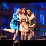 April (Morgan Dayley), Kathy (Michelle Drexler), and Marta (Teresa Attridge) implore Robert to settle down.