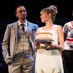 Engaged couple Paul (John Paul Gonzalez) and Amy (Monique Hafen*.