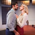 Coworkers Sandeep (Jason Kapoor) and Hannah (Carrie Paff*) having an affair.