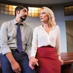 Sandeep (Jason Kapoor) and Hannah (Carrie Paff*) having an affair.