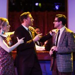 Leah Shesky, Steven Shear, and Jeffrey Brian Adams in 'Promises, Promises'.