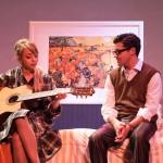 Monique Hafen* and Jeffrey Brian Adams in 'Promises, Promises'.