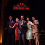 Jimmy Powers (John Paul Gonzalez, center) sings with the Angel City 4 (Ken Brill, Monique Hafen*, Caitlan Taylor*, William Giammona).