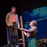 Eddie (Jeffrey Brian Adams*) and Rose (Caitlin Brooke) explore San Francisco on a date.