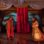 Ira Aldridge (Carl Lumbly*) and Ellen Tree (Susi Damilano*) perform as Othello and Desdemona at the Covent Garden theatre.