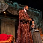 Ira Aldridge (Carl Lumbly*) reflects on becoming the first black actor to play Othello on a British stage in an interview with reporter Halina Wozniak (Elena Wright*).