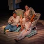 Old friends Mehr (Amy Lizardo*), Julia (Karen Offereins) and Ana (Sarah Moser*) catch up.