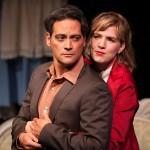 Valmont (Johnny Moreno*) and Ana (Sarah Moser*) dance.