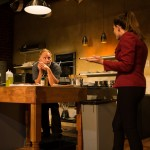 Harry (Brian Dykstra*) and Emily (Alex Sunderhaus*) argue over the future of the restaurant.