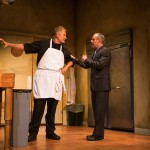 Harry  (Brian Dykstra*) and Mike (Rod Gnapp*) argue over the future of the restaurant.